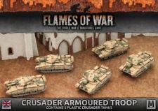 Flames of War BBX39 British Crusader Armoured Troop Battlefront Miniatures