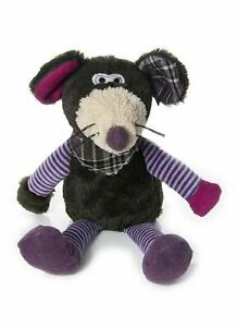 Mousehouse 31cm Cuddly Mouse Soft Toy with Neckerchief and Soft Whiskers