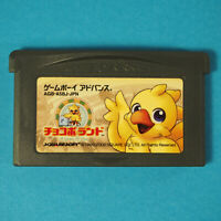 Chocobo Land: A Game Of Dice (Nintendo Game Boy Advance GBA, 2002) Japan Import