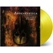 APOCALYPTICA Inquisition Symphony 180G YELLOW Vinyl LP Limited Edition