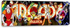 Emulator Classic Arcade Marquee Game Room Man Cave Bar Wall Decor Metal Tin Sign
