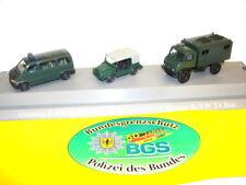 """Roco 6686 Minitanks """"50 Jahre Bundesgrenzschutz 1951-2001"""" limitiert"""