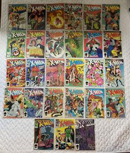 Lot of 27 - The Uncanny X-Men (1983) Issues 172 - 198 - SUPER HIGH GRADE SET