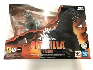 Bandai S.H.MonsterArts Godzilla 1989 vs Biollante Painted Articulated Figure NEW