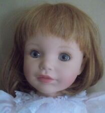 SUSAN WAKEEN wakeem LIFELIKE red hair realistic BABY DOLL christening