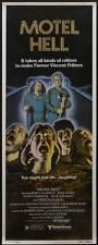 MOTEL HELL Movie POSTER 14x36 Insert Rory Calhoun Nancy Parsons Paul Linke Nina