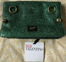 Red Valentino Green Clutch Bag RRP£720 NEW With Tag