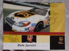 DALE JARRETT #88 UPS RACING 8.5x11 Photo Card
