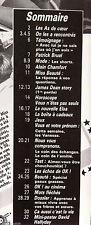 b)Ok ! âge tendre n°772; Interview Elsa/ P. Bruel/ JAmes Byron Dean/ A.Chamfort