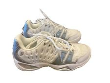 Prince T22 Womens Sz 7.5 US White Athletic Tennis Training Running Lace Up Shoes