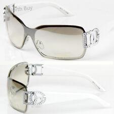 436f4eb40759a New DG Eyewear Womens Mens Shield Designer Sunglasses Shades Fashion Retro  Wrap