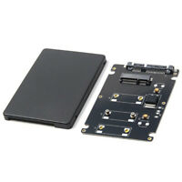 Mini Pcie mSATA SSD to 2.5 inch SATA3 Adapter Card with Case 7 mm Thickness C4H9