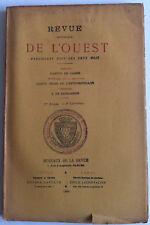 Mr de BANDEVILLE Genealogie Maison du BREIL REVUE Historique OUEST Bretagne 1889