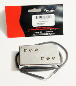 Genuine Fender '72 Deluxe Custom Telecaster Wide-Range BRIDGE Humbucker Pickup