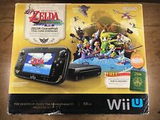 Nintendo Wii U console The Legend of Zelda Wind Waker HD Deluxe Set 32GB tested!