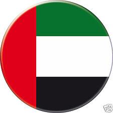 5 x sticker 5cm auto moto velo valise pc portable drapeau Rond Émirats arabes
