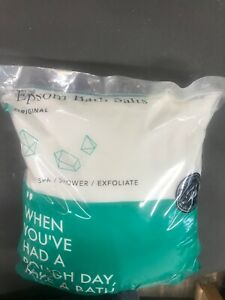 Epsom Salt 20lbs by Grace & Stella, New, Bulk Bag Magnesium Sulfate