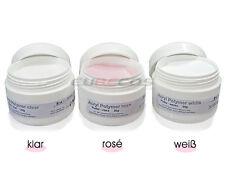 Acrylpuder Powder Acrylic Polymer White Acrylmodellage ACRYL PULVER 30g Weiss