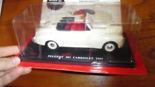 AUTO VINTAGE DELUXE COLLECTION PEUGEOT 203 1953 CABRIOLET 1/24