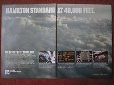 6/1982 PUB HAMILTON STANDARD PROP FAN PROPELLER DIGITAL SYSTEMS ORIGINAL AD