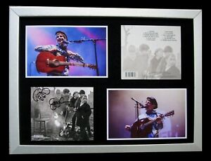 GERRY CINNAMON+SIGNED+FRAMED+THE BONNY+CANTER=100% AUTHENTIC+EXPRESS GLOBAL SHIP