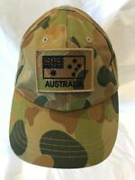 Army Australian Auscam DPCU Operator Cap and Subdued ANF Patch