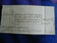 Lord Halifax, signed document 1715, First Lord of The Treasury