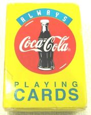 Vintage Coke Playing Cards Always Coca Cola 1996 Mini Complete Set With Box