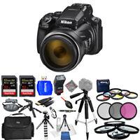 Nikon COOLPIX P1000 16MP 4K UHD Digital Camera #26522 - Mega Bundle