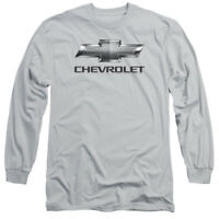 Chevrolet CHEVY BOWTIE Licensed Adult Long Sleeve T-Shirt S-3XL