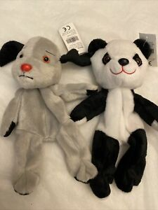 """Build Your Own Bear 8"""" Sweep And Sue (sooty Show) BNWT"""