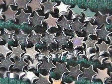 6mm Hematite Star Beads (80+ per strand) Very Uniform
