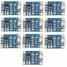 10Pcs Lithium Battery Charger Module TP4056 Charging Board 5V 1A 18650 Micro USB