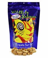 WildSide Wild Alaskan Freeze Dried Salmon USA MADE 3oz Cat Treats