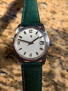 1970s Vintage Lip Durowe 7425 Manual Wound Mens Watch 34mm