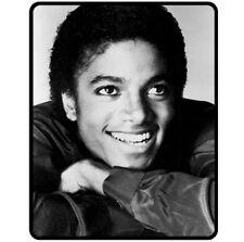 New Michael Jackson Vintage Fleece Blanket Bed Gift