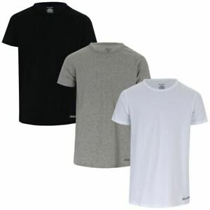 Men's Lyle And Scott Men Elijah 3 Pack T-Shirts in Black, Grey, and White