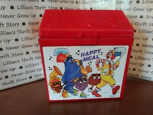 ✨Fisher Price VINTAGE Fun with Food McDonalds Happy Meal Box Carton✨