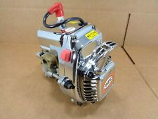 Rovan 36cc 4 Bolt Engine with Chrome Kit Pull Start Clutch HPI Baja King Motor