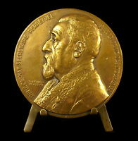 Medal to Rene Louis Victor Cagnat Historian of L Africa Roman Benard Medal
