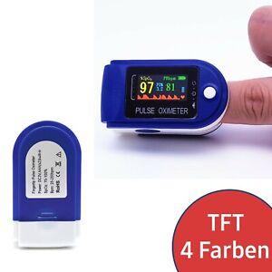 Finger Puls Oximeter Puls Messer Messgerät Oxymeter SpO2 Pulse Sauerstoff Messen