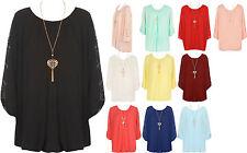 3/4 Arme Damenblusen,-Tops & -Shirts im Blusen-Stil mit Polyester für Party