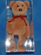 Prototype Teddy NF New Face Brown Authenticated -  Ultra Rare Ty Beanie Baby
