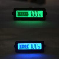 8V-63V Batterie au lithium-ion au plomb Testeur de capacité Indicateur Écran LCD