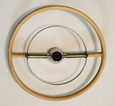 1955 Lincoln Capri Steering Wheel Horn Ring 55 Rare