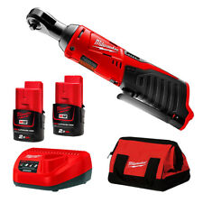 "Genuine Milwaukee 12V Li-Ion M12 Cordless 3/8"" Ratchet Combo Kit - AU STOCK"