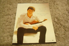 Joshua Bell 2005 ad for Hollywood Bowl Hall of Fame congratulates the Violinist