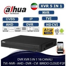 DVR 16 Canali 5in1 HDCVI+AHD+TVI+ANALOGICO+IP 1080N Audio - Compact - Dahua - XV