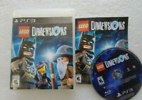 Lego Dimensions PS3 Game Only Complete Free Fast Shipping