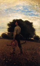 Song of the Lark  by Winslow Homer  Giclee Canvas Print Repro